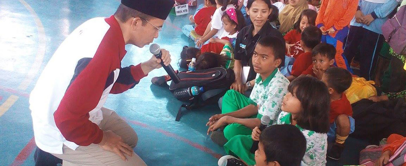 Children Meet with the Governor of West Nusa Tenggara Province